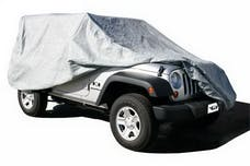Rampage Products 1203 Custom Vehicle Covers 4 Layer - Includes Lock, Cable, and Storage Bag