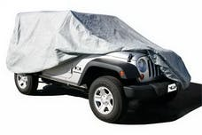 Rampage Products 1201 Custom Vehicle Covers 4 Layer - Includes Lock, Cable, and Storage Bag