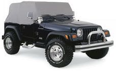 Rampage Products 1160 Jeep Wrangler YJ Cab Cover Grey