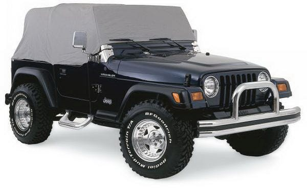 Rampage Products 1160 Cab Cover; Water Resistant; Gray