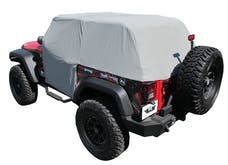 Rampage Products 1163 Cab Cover Water Resistant, Fit Over Factory Roll Bars Without Installed Soft Top