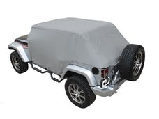 Rampage Products 1164 Cab Cover Water Resistant, Fit Over Factory Roll Bars Without Installed Soft Top