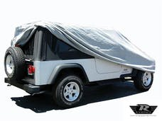 Rampage Products 1202 Jeep Wrangler LJ Custom Vehicle Cover Grey