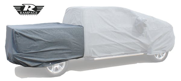 Rampage Products 1330 Easy fit Truck Cover 4 Layer -Includes Lock, Cable, and Storage Bag