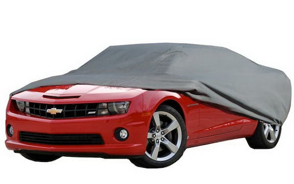 Rampage Products 1400 Custom Car Cover 4 Layer - Includes Lock, Cable, and Storage Bag