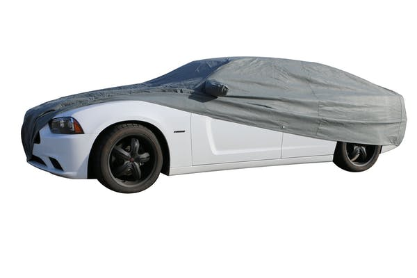 Rampage Products 1505 Custom Car Cover 4 Layer - Includes Lock, Cable, and Storage Bag