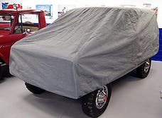 Rampage Products 1703 Custom Car Cover 4 Layer - Includes Lock, Cable, and Storage Bag