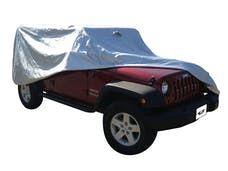 Rampage Products 2203 Jeep Wrangler JK/JKU Custom Vehicle Cover Silver