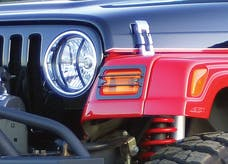 Rampage Products 5680 Euro Front Light Guard Kit