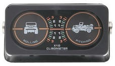 Rampage Products 791005 Clinometer with Jeep Graphic