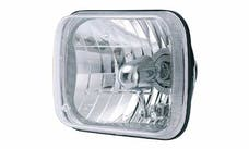 Rampage Products 5081127 Headlight Assembly, 200mm Rectangular Conversion