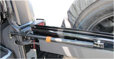 Rampage Products 86618 Rear Door Heavy Duty Gas Strut Stabilizer with Dampener