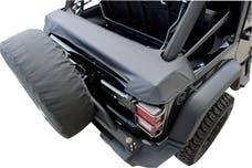 Rampage Products 960435 Soft Top Storage Boot; Black Diamond