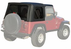 Rampage Products 99315 Factory Replacement Soft Top; Black Denim; Install Over Factory Framework