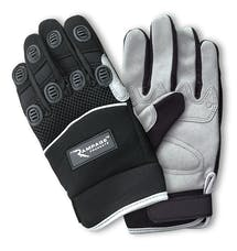 Rampage Products 86644 Recovery Gloves; Black
