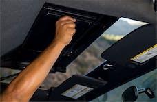 Rampage Products 990235 Trailview Tonneau Top; Black Diamond; w/Fold Back Sunroof