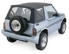 Rampage Products 98735 Factory Replacement Soft Top; Black Diamond; Install Over Factory Framework