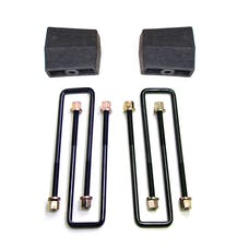 "ReadyLift 26-3104 Suspension Leaf Spring Block Kit, 4"" Rear"