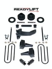 ReadyLift 69-2511 2.5'' SST Lift Kit with 4'' Rear Flat Blocks for 2 pc Drive Shaft without Shocks