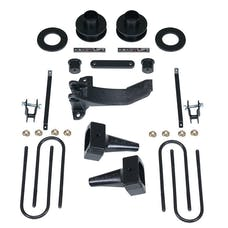 ReadyLift 69-2517 2.5'' SST Lift Kit with 4'' Rear Tapered Blocks - 1 pc Drive Shaft without Shock