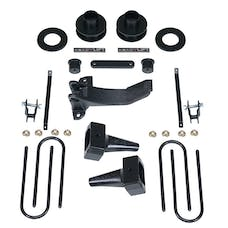ReadyLift 69-2518 2.5'' SST Lift Kit with 4'' Rear Tapered Blocks - 1 pc Drive Shaft without Shock