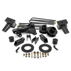 ReadyLift 69-2740 2.5'' SST Lift Kit with 4'' Rear Taper Blocks for 1 pc Drive Shaft without Shock