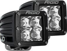 RIGID Industries 202223 D-Series Spot Surface Mount Amber pair