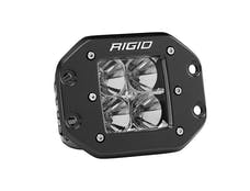 RIGID Industries 211113 D-Series PRO Flood LED Light, Flush Mount