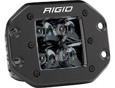 RIGID Industries 211213BLK D-Series PRO Flush Mount Spot Light, Midnight