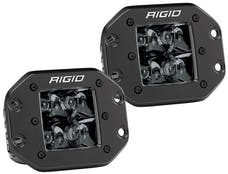 RIGID Industries 212213BLK D-Series PRO Flush Mount Spot Light, Midnight