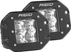 RIGID Industries 212213 D-Series PRO Spot LED Light, Flush Mount