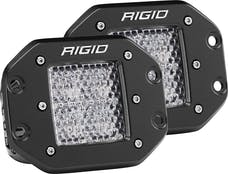 RIGID Industries 212513 D-Series PRO Diffused LED Light, Flush Mount