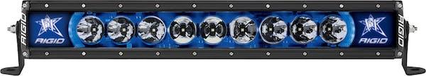"""RIGID Industries 220013 Radiance PLUS 20"""" Blue Backlight"""