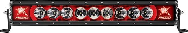 "RIGID Industries 220023 Radiance PLUS 20"" Red Backlight"