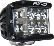 RIGID Industries 261313 Dually Side Shooter PRO LED Driving Light, Surface Mount