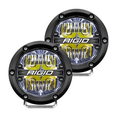 RIGID Industries 36117 360-Series 4in LED  Off-Road  Drive Beam White Backlight Pair