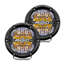 RIGID Industries 36118 360-Series 4in LED Off-Road Drive Beam Amber Backlight Pair
