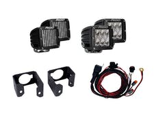 RIGID Industries 41616 Dual Fog Light Kit Includes Mounts & 4 D-Series