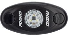 RIGID Industries 480013 A-Series LED Light, Black-Low Strength Warm White
