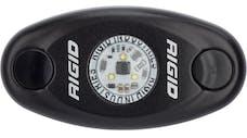 RIGID Industries 480343 A-Series LED Light, Black-Low Strength Amber