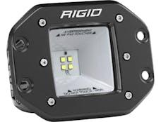 RIGID Industries 681523 2X2 115 Degree DC Scene Flush Mount Black
