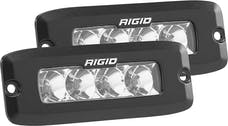 RIGID Industries 925113 SR-Q PRO Flood LED Light, Flush Mount