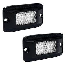 RIGID Industries 980013 SR-M Series PRO Diffused  LED Back Up Light, Flush Mount