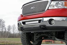 Rough Country 70527 20-inch Single or Dual Row LED Light Bar Hidden Bumper Mounting Brackets