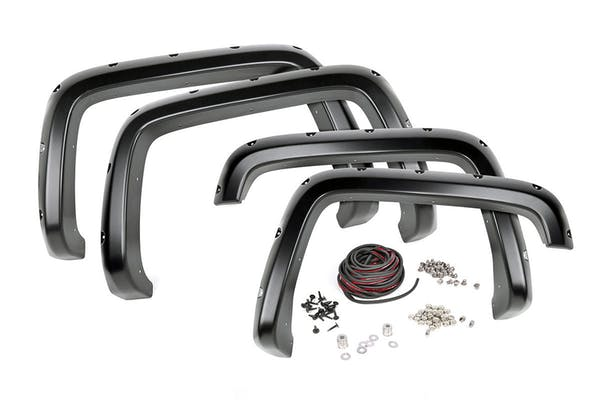 Rough Country F-C11512 Pocket Fender Flares w/ Rivets (6-foot Bed Models)