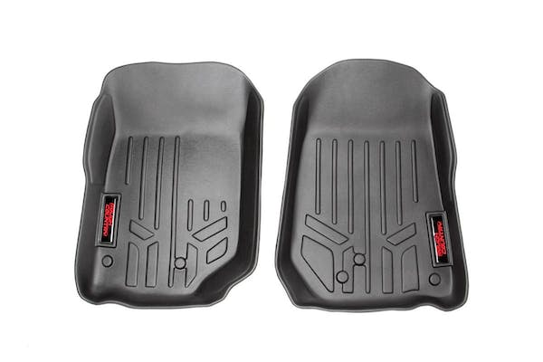 Rough Country M-6141 Heavy Duty Floor Mats - Front Set