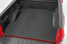 """Rough Country RCM640 """"RC"""" Logo Contoured Rubber Bed Mat (5-foot 5-inch Beds)"""