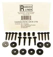 Rugged Liner LIK45 Tailgate Piece Install Kit