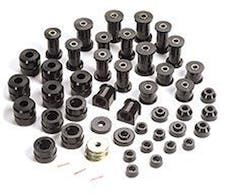 Rugged Ridge 1-2005BL Polyurethane Bushing Kit; Black; 87-95 Jeep Wrangler YJ