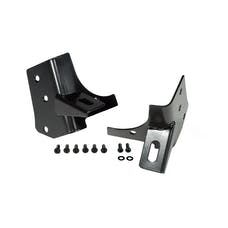 Rugged Ridge 11027.02 Windshield Auxiliary Light Mounting Brackets